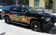 Columbia County Sheriff K-9 # 3347 Chevy Tahoe