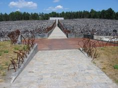 Monument at Belzec death camp. Photo (c) Ruth Ellen Gruber