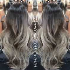 Alicia, asian blond ombré on ash brown base. - Yelp