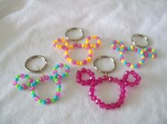Mickey key chain craft or party favor!