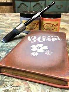 Secrets To Making Unique Decorative Books #dododsondesigns #decorativebooks
