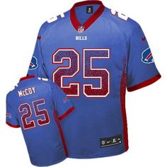 Nike Bills #25 LeSean McCoy Royal Blue Team Color Men's Stitched NFL Elite Drift Fashion Jersey