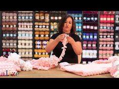 Alize Puffy ile Hasır Örgü (Model 1) - YouTube