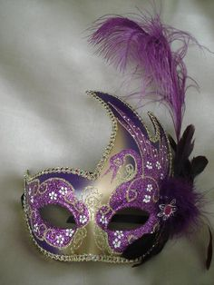 Purple Mask - Everything is better in purple!