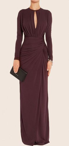 MACloth Sheath Long Sleeves Jersey Maxi Evening Formal Gown Mother of the Brides Dress Elegant Dresses, Beautiful Dresses, Formal Dresses, Long Sleeve Formal Dress, Long Sleeve Gown, Hijab Style, Mermaid Evening Dresses, Long Sleeve Evening Gowns, Formal Evening Gowns