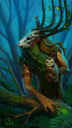 Forest Keeper by WhiteGrifon.deviantart.com
