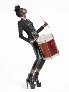 """Bomba  """"no one else can bang your drum"""""""
