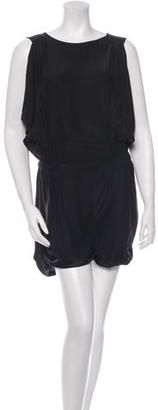 Elizabeth and James Silk Romper - Shop for women's Romper - Black Romper