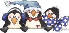 "Laurie Furnell - ""Penguins"""