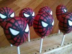 Spiderman cake pops sweet-treats