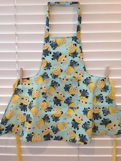 Minions child toddler apron / Despicable Me minions apron