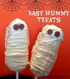 Easy Mummy Treats