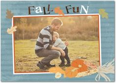 Fall Memories - Happy Thanksgiving Greeting Cards from Treat.com. #fall #leaves