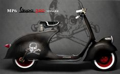 awesome custom Vespa