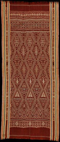 Ikat from Sarawak, Borneo, Indonesia