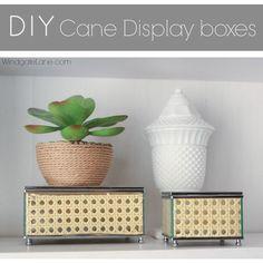 DIY Cane Display Boxes - Windgate Lane