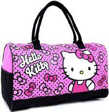 0570a18e7369 Sanrio Hello Kitty Duffle Bag Travel Gym 20