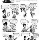 A comic lesson on subject verb agreement. This comic provides teachers with a fun and entertaining way to teach or review subject verb agreement. A worksheet with answer key follows. This c...