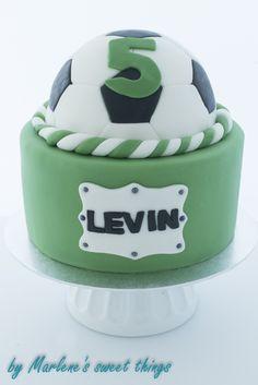Soccer cake - Fussball Torte