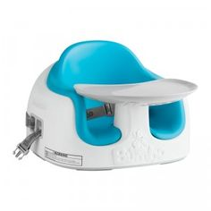 Bumbo Multi Seat can transform into a booster seat, floor seat, & feeding seat.
