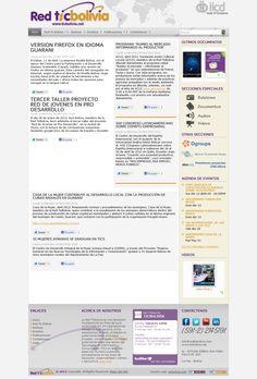 La Red Ticbolivia es una asociación multisectorial sin fines de lucro conformada por 24 organizaciones afiliadas a nivel nacional.  www.ticbolivia.net