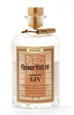Gin of the World # Schraml# Bavarian Dry Gin #