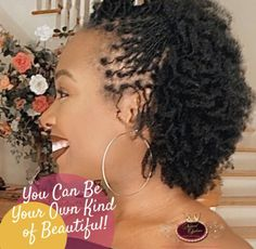 Natural Hair Weaves, Natural Hair Cuts, Natural Hair Styles, Micro Locs, Bantu Knot Out, Braids With Extensions, Alternative Hair, Natural Hair Inspiration, Be Your Own Kind Of Beautiful