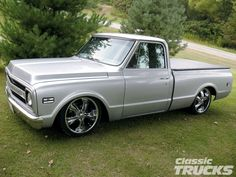 My truck i want, a 1969 Chevy C10 pickup. Sweet lookin' one
