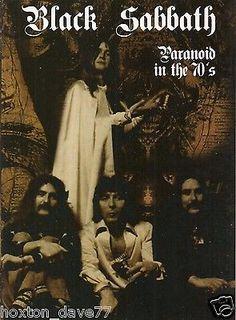 BLACK SABBATH Paranoid In The 70s:TV footage'68-78 DVD Deep Purple OZZY OSBOURNE