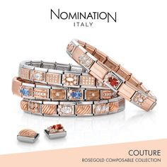 we love the new Nomination Couture Rose Gold collection  nomination   couture  rosegold   ce5df492ed2c