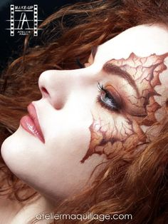 Leaves? Dragon? Beautiful. | Make-Up Atelier Paris