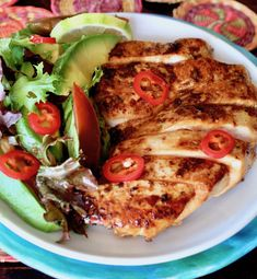Chipotle Tequila Lime Chicken Yummy Chicken Recipes, Yum Yum Chicken, Tequila Lime Chicken, Tostada Recipes, Chicken Marinades, Tostadas, Chipotle, Vegetable Pizza, Cooking Recipes