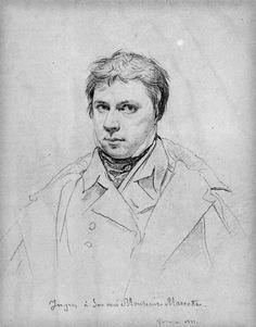 Jean Auguste Dominique Ingres, self portrait