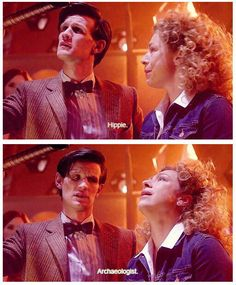 The relationship between The Doctor and River Song.