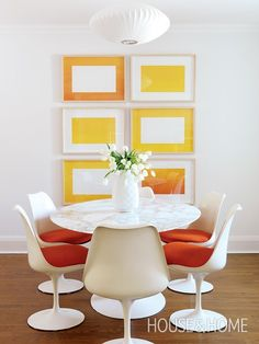 Bright, Fresh Dining Room | House & Home