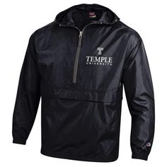 Champion Packable Jacket (small, grey or black)