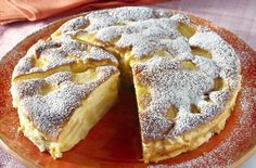 Poppy seed cake with vanilla cream and chocolate (delicious cake, tastes delicious, always succeeds) - Backen - Kuchen Italian Desserts, Apple Desserts, Apple Recipes, No Bake Desserts, Sweet Recipes, Delicious Desserts, Baking Recipes, Cake Recipes, Yummy Food