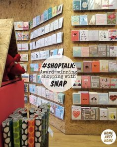 New artists in a Chipboard interior: Home Arty Home Heaven! #SHOPTALK: Award-winning shopping with SNAP in Bow, London, with Ohh Deer, Hello Lucky & Anorak. http://homeartyhome.com/shoptalk-award-winning-shopping-snap/
