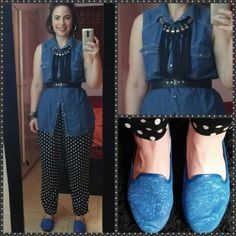 Black and blue**What I wear, fashion, style, my style