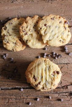 Thick Chocolate Chip Cookies Homemade Easy And Full Of Chips Thick And Delicious