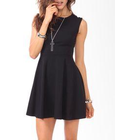 Closet Staple  Curve Stitched Skater Dress | FOREVER21 - 2000049959