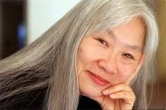 "Maxine Hong Kingston, author from Stockton, Ca.  I remember her as a friend of my older sister. Author of ""The Woman Warrior"""