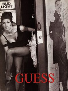 Have always loved vintage guess ads..