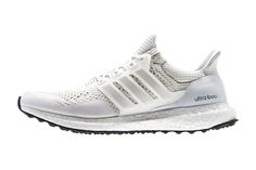 "adidas Ultra Boost ""All White"" Worn by Kanye West"