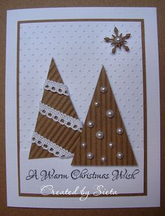 30 ідей різдвяних листівок, які легко виготовити самотужки | Ідеї декору Christmas Card Crafts, Homemade Christmas Cards, Christmas Cards To Make, Christmas Greeting Cards, Christmas Wishes, Christmas Art, Christmas Greetings, Greeting Cards Handmade, Homemade Cards