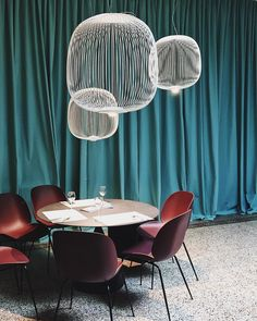 Design & Food at Palazzo Litta - Edith Beurskens ( Futon Chair Bed, Swivel Chair, Metal Chairs, Cool Chairs, Contemporary Dining Chairs, Contemporary Furniture, Beetle Chair, Bucket Chairs, Living Room Chairs