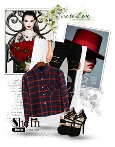 """SHEIN 3"" by amra-piric ❤ liked on Polyvore featuring мода и Sheinside"