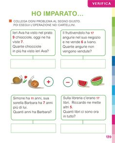 Matita e gomma 1 - Matematica First Grade, Coding, Study, School, Geography, Home, Activities, Book, Studio