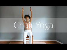 Chair Yoga, Restorative Yoga, Morning Yoga, Yoga Videos, Lifestyle Changes, Medical Advice, Yoga Meditation, The Office, You Can Do