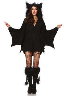 Sexy Fledermaus Kostüm für Damen, Leg Avenue